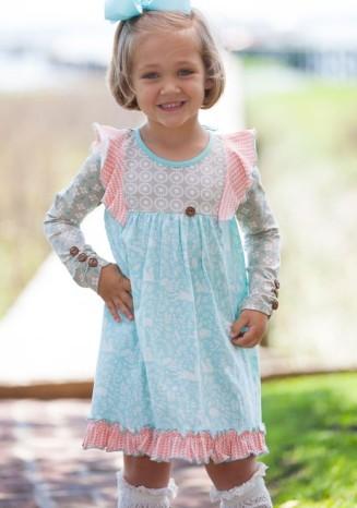 woodland-dress-matching-girls-child