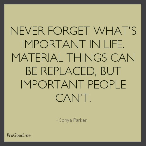 sonya-parker-never-forget-whats-important-in-life